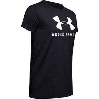 Under Armour GRAPHIC T-Shirt Damen black-onyx white