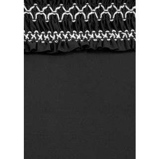 Lascana Badeanzug Damen schwarz