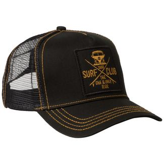 VAN ONE Surf Club Cap Herren graugrün / gold