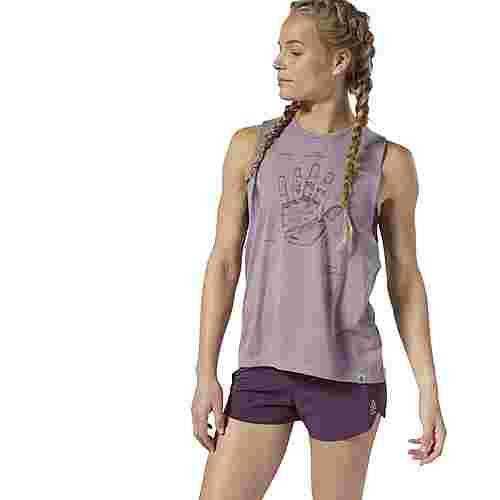 Reebok Funktionsshirt Damen Lilac Fog
