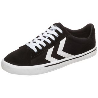hummel Nile Canvas Low Sneaker Herren schwarz