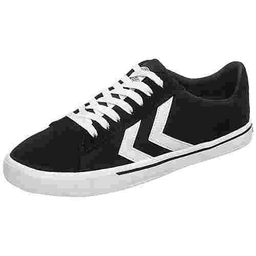 hummel Nile Canvas Low Sneaker Herren schwarz