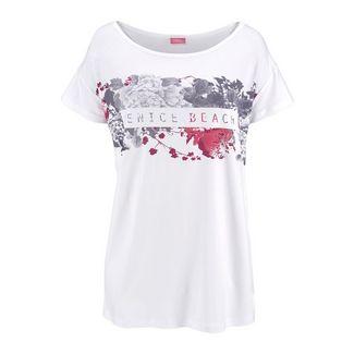VENICE BEACH Printshirt Damen weiß bedruckt