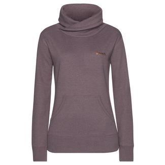 Bench Sweatshirt Damen mauve-meliert