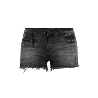 Buffalo Shorts Damen schwarz-washed
