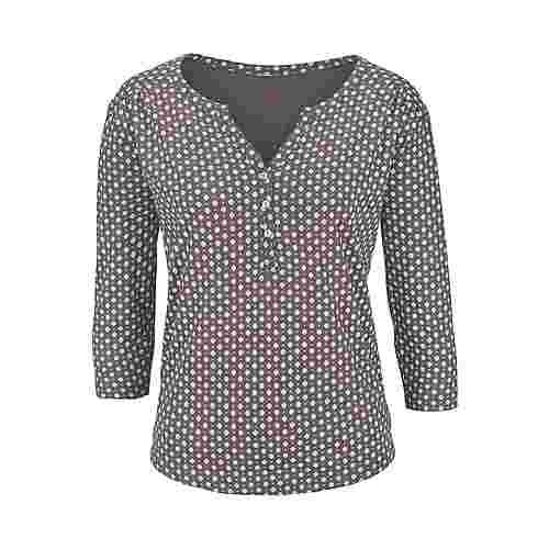 Lascana V-Langarmshirt Damen Taupe Im Online Shop Von
