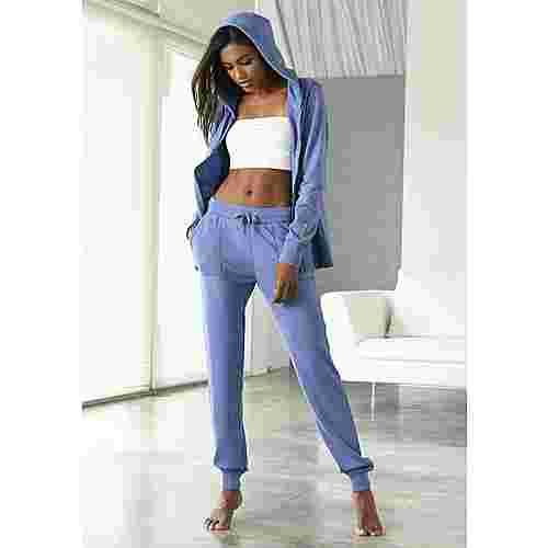 Bench Sweatjacke Damen jeans-meliert