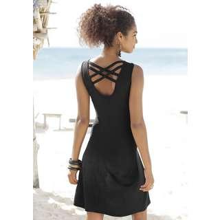 Buffalo Jerseykleid Damen schwarz