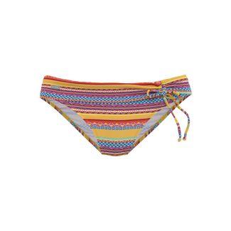 Buffalo Bikini Hose Damen gelb-gestreift