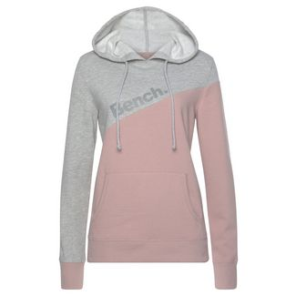 Bench Sweatshirt Damen grau-meliert-mauve