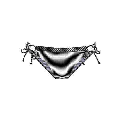 S.OLIVER Bikini Hose Damen schwarz-weiß-gestreift