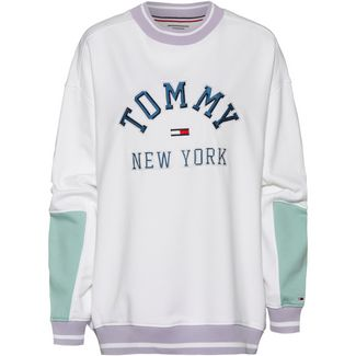 Tommy Jeans Sweatshirt Damen classic white-multi