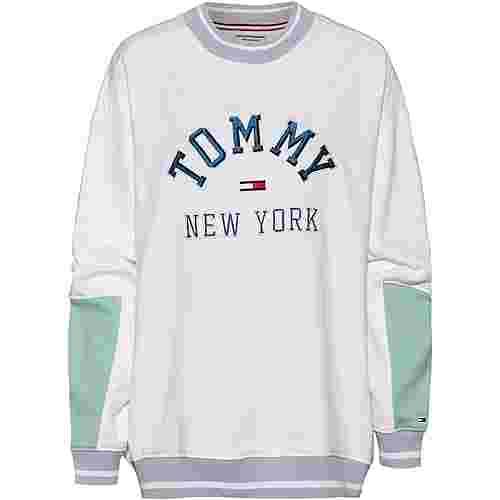 Tommy Jeans Sweatshirt Damen classic white-multi