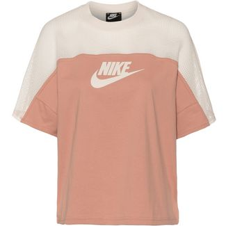 Nike NSW T-Shirt Damen rose gold-pale ivory