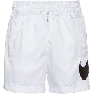 Nike NSW Shorts Damen white-black