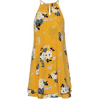 Only onlMariana Myrina Kurzarmkleid Damen vibrant yellow