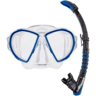 AQUA LUNG Combo Duetto Schnorchelset blue-black