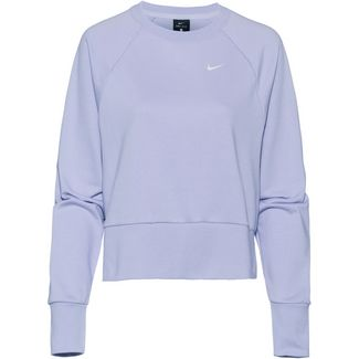 Nike Dry Sweatshirt Damen oxygen purple-white