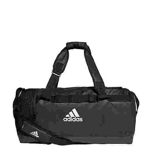 adidas Convertible Training Duffelbag M Sporttasche Herren Black / Black / White