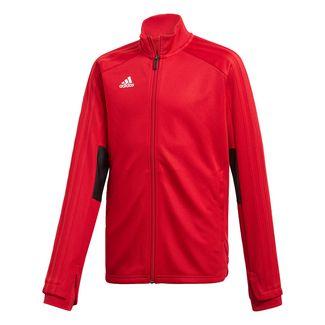 adidas Condivo 18 Trainingsjacke Sweatjacke Kinder Power Red / Black / White