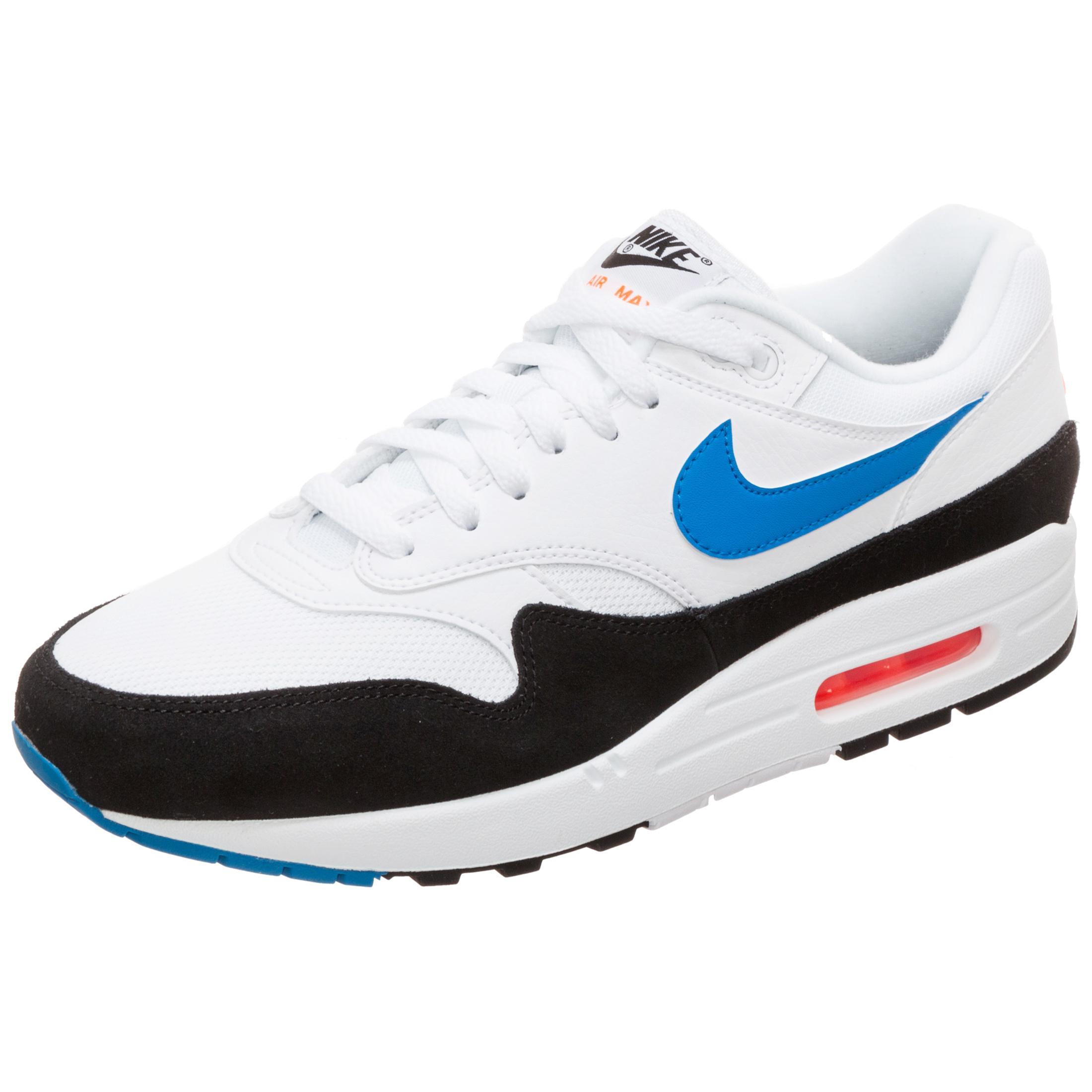 Nike Air Max 1 Sneaker Herren weiß blau im Online Shop von SportScheck kaufen