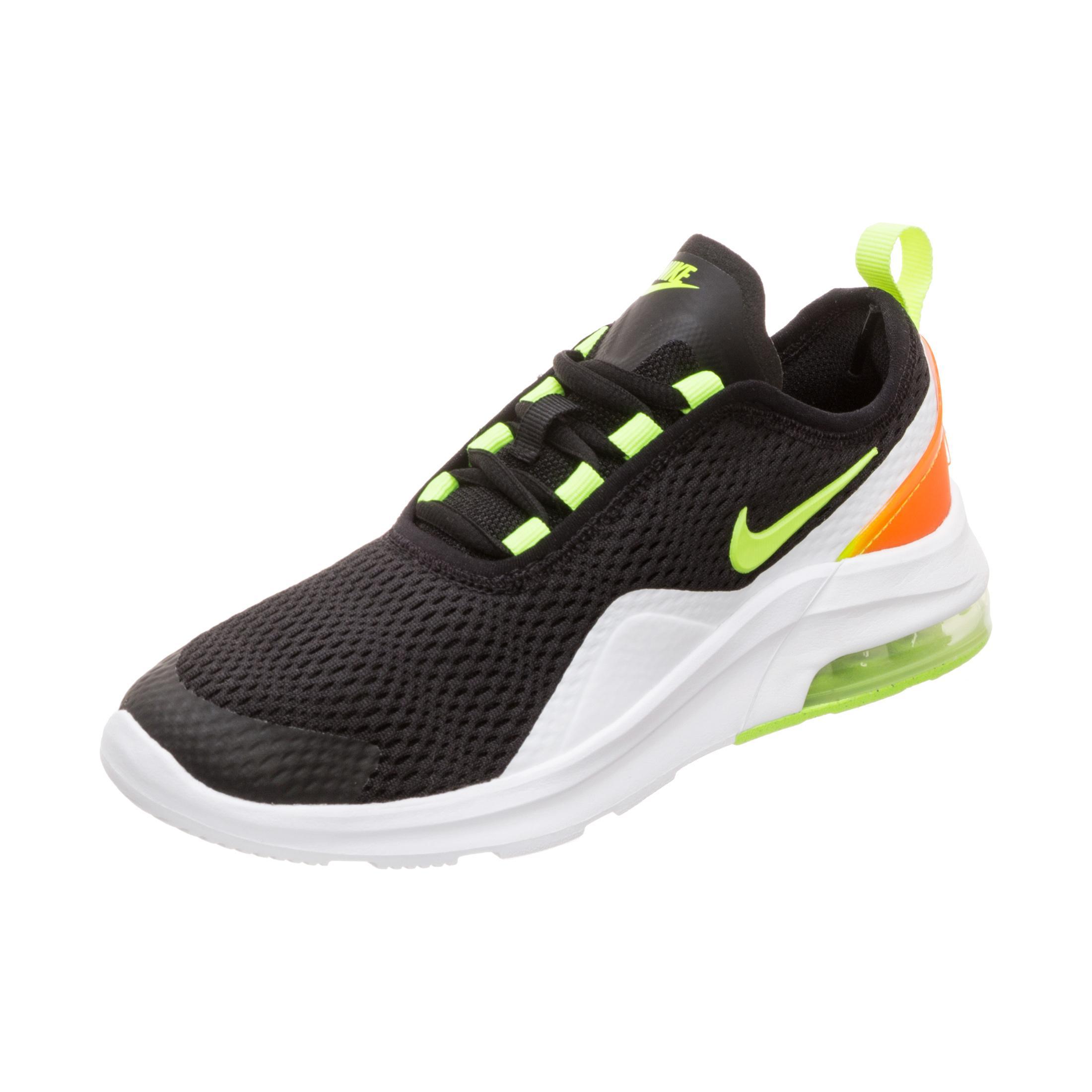 Nike Air Max Motion 2 Sneaker Jungen schwarz gelb im Online Shop von SportScheck kaufen