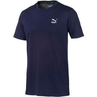 PUMA Classics T-Shirt Herren peacoat