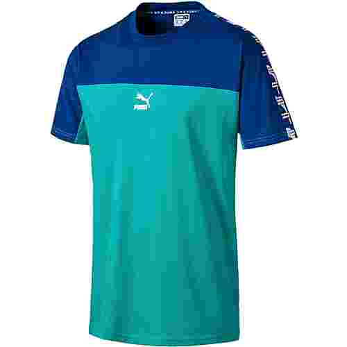 PUMA XTG T-Shirt Herren blue turquoise