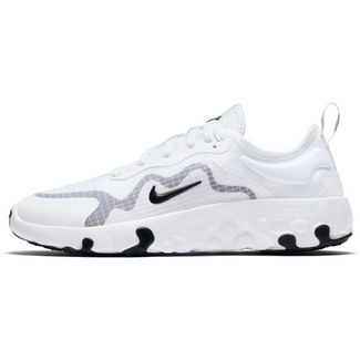 Nike Lucent Sneaker Kinder white-black