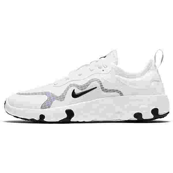 Nike Lucent Sneaker Kinder white-black