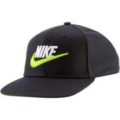 Nike Futura 4 Cap Kinder black-volt-volt-2-color-logo