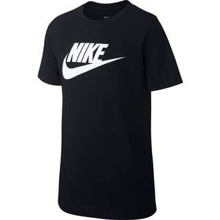Nike Futura Icon T-Shirt Kinder black-white