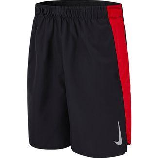 Nike Flex Challenger Shorts Kinder black-university-red