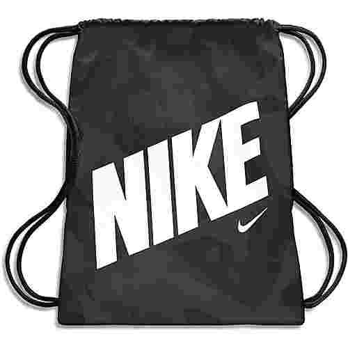 Nike Turnbeutel Kinder black-black-white