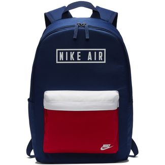Nike Heritage 2.0 Air GFX Daypack blue void-university red-white