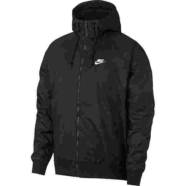 Nike NSW Windrunner Kapuzenjacke Herren black-black-black-sail