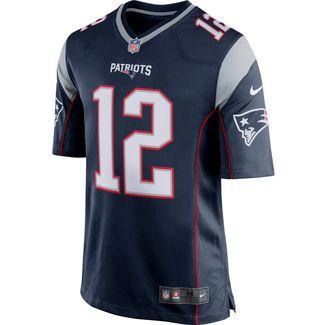Nike Tom Brady New England Patriots American Football Trikot Herren college navy-wolf grey