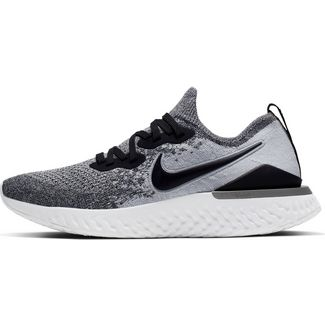 Nike Epic React Flyknit 2 Laufschuhe Damen white-black-pure platinum