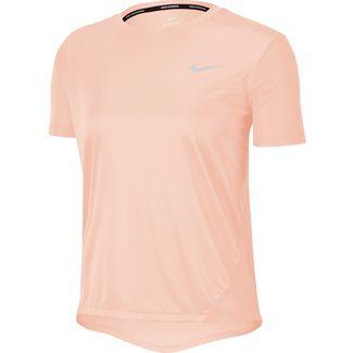Nike Miler Laufshirt Damen echo pink-reflective silver