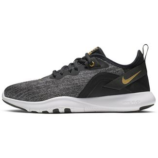 Nike Flex Trainer 9 Fitnessschuhe Damen vlack-metallic gold-gunsmoke
