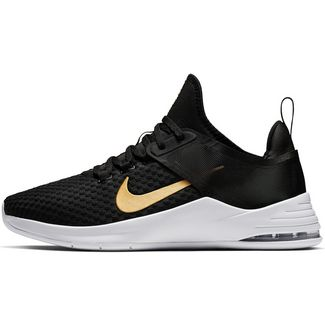 Nike Air Max Bella TR 2 Fitnessschuhe Damen black-metallic gold