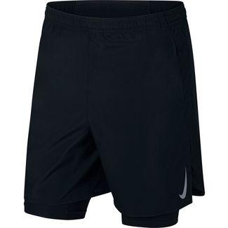 Nike Challenger Funktionsshorts Herren black-black-reflective silv