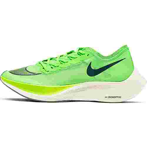 Nike Vaporfly Next% Laufschuhe Herren electric green-black-guava ice