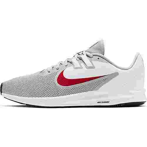 Nike Downshifter 9 Laufschuhe Herren wolf grey-university red-white-black