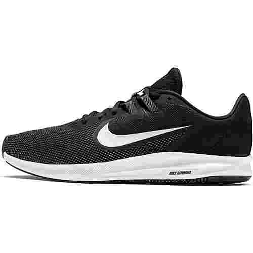 Nike Downshifter 9 Laufschuhe Herren black-white-anthracite-cool grey