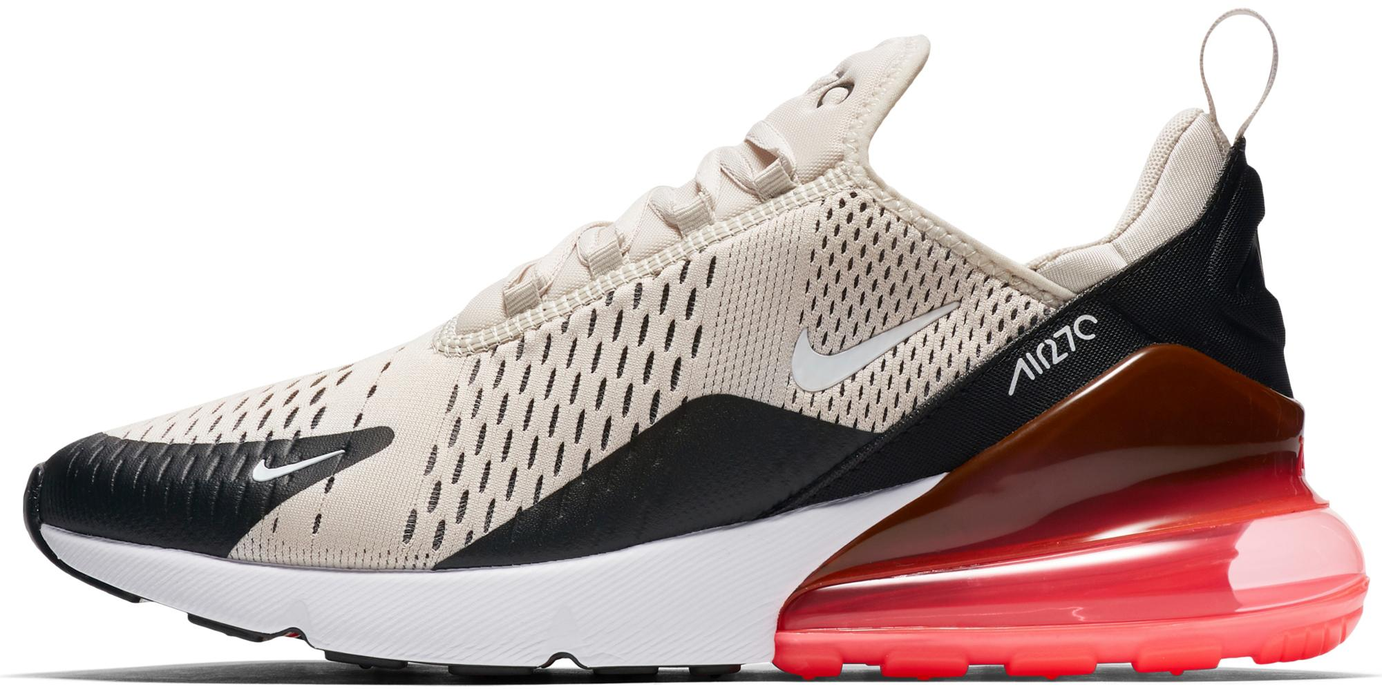 Nike Air Max 270 Sneaker Herren black light bone hot punch white im Online Shop von SportScheck kaufen