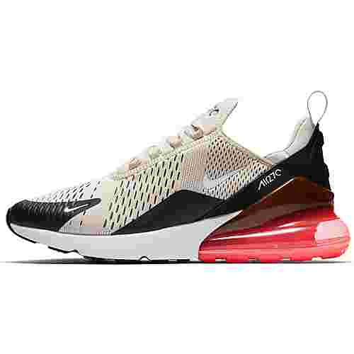 Nike Air Max 270 Sneaker Herren black-light bone-hot punch-white