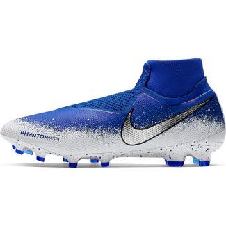 Nike PHANTOM VSN ELITE DF FG Fußballschuhe racer blue-chrome-white-black