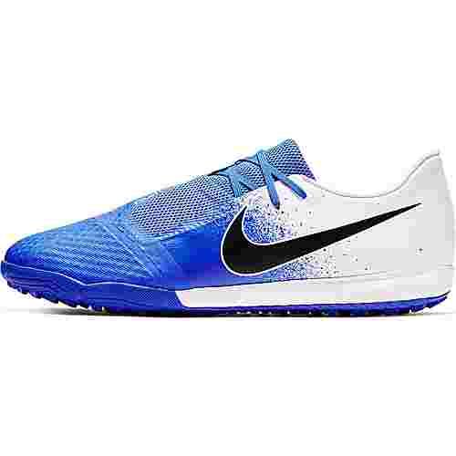 Nike PHANTOM VENOM ACADEMY TF Fußballschuhe white-black-racer blue
