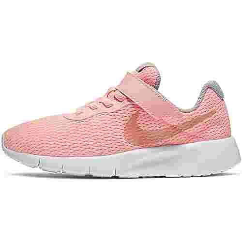 Nike Tanjun Sneaker Kinder pink-tint-mtlc-rose-gold-atmosphere-grey